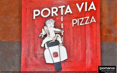 Porta Via Pizza. Puente Tocinos, Murcia