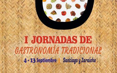 Presentación de las I Jornadas de Gastronomía Tradicional en Santiago y Zaraíche, Murcia