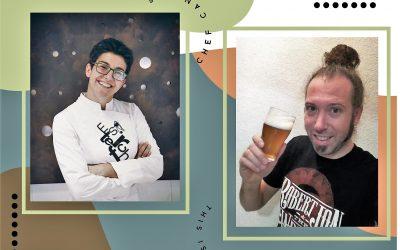 Cena maridaje con cerveza en el Obrador de Ester Cánovas con el beer sumiller Alejandro Piqueras